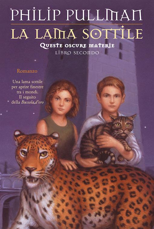 Copertina del libro con l'immagine di due ragazzi e due animali