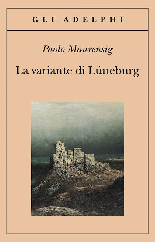 Copertina del libro con l'immagine di un quadro con rappresentato un castello su di una collina