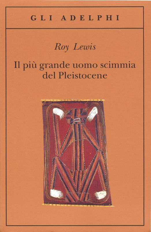 Copertina del libro di colore marrone con l'immagine di un'incisione preistorica in mezzo