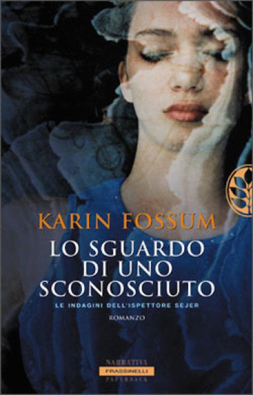 Copertina del libro con l'immagine sfuocata di una ragazza ad occhi chiusi