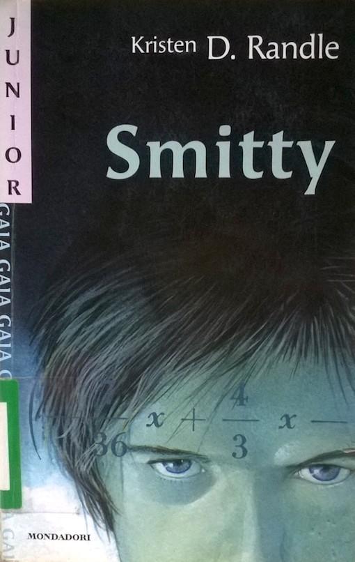Copertina del libro con l'immagine del viso di un ragazzo