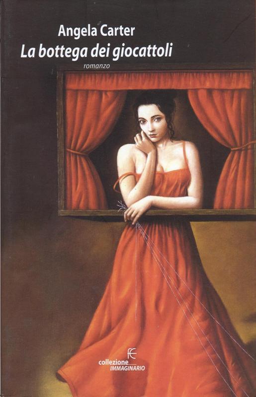 Copertina del libro con l'immagine di una ragazza con un lungo abito rosso