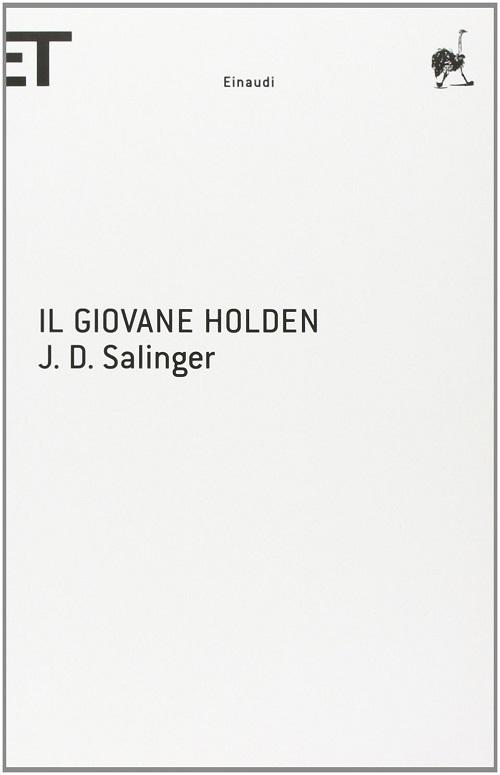 Copertina del libro bianca con la scritta nera del titolo