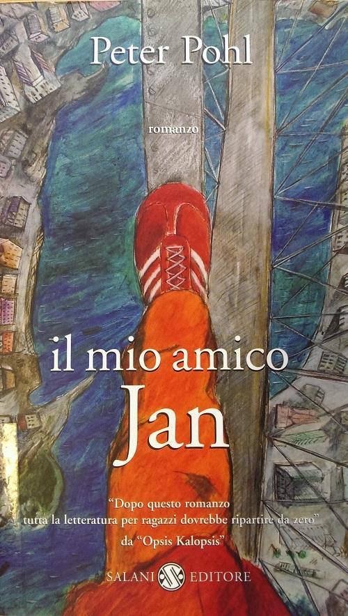 Copertina del libro con l'immagine di un piede che sta camminando in equilibrio su un ramo