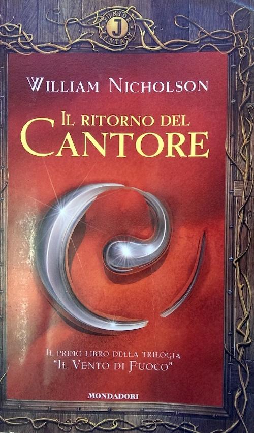 Copertina del libro rossa con l'immagine di un aggetto metallico ricurvo