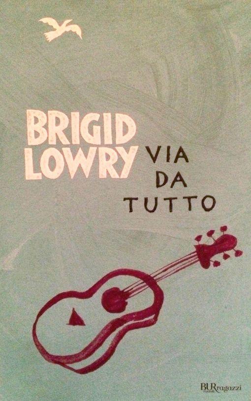 Copertina del libro con il disegno di una chitarra rossa su uno sfondo grigio