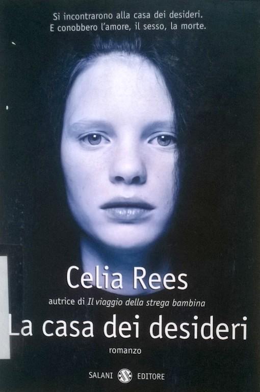 Copertina del libro con l'immagine del viso di una ragazza che guarda verso l'obbiettivo