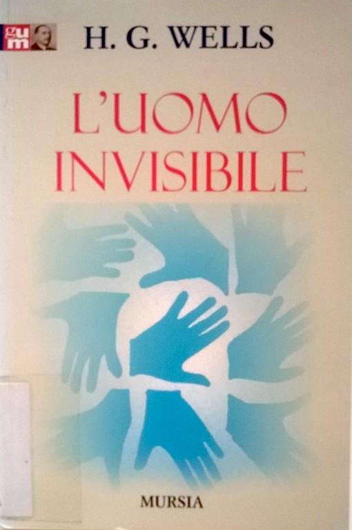 Copertina del libro bianca con il disegno di molte immagini blu che formano un quadrato