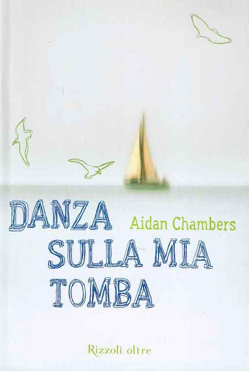 Copertina del libro con l'immagine di una barca che sparisce verso l'orizzonte del mare