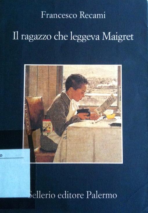 Copertina del libro con l'immagine di un ragazzo seduto a tavola che legge