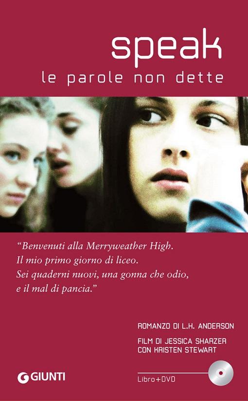 Copertina del libro con l'immagine di una ragazza in primo piano e di due ragazze che parlano alle sue spalle