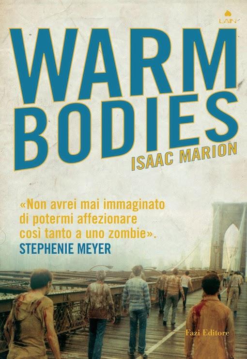 Copertina del libro con l'immagine di una serie di zombie che si dirigono verso un ponte in un paesaggio post apocalittico