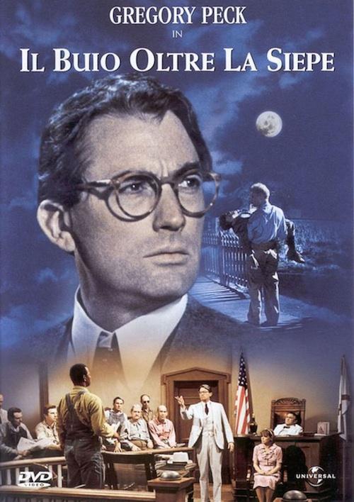 la locandina del film con il protagonista Gregory Peck