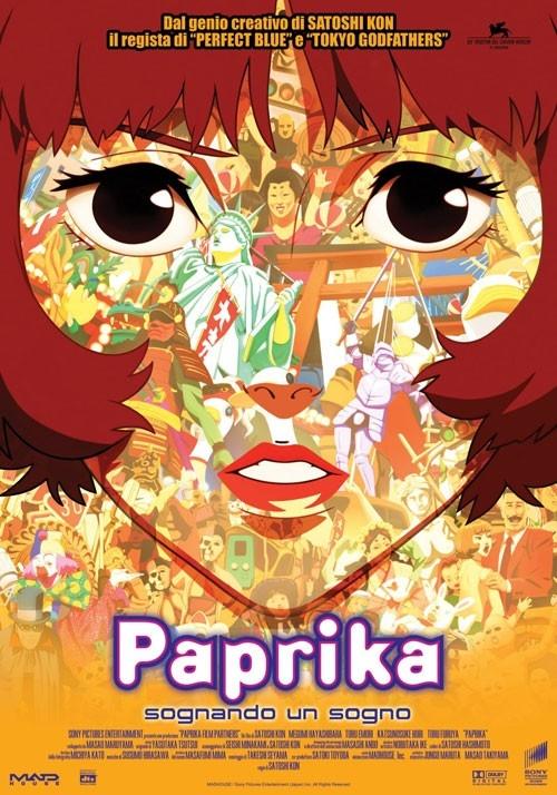 locandina del film con in primo piano il volto di una ragazza sullo sfondo numerosi personaggi