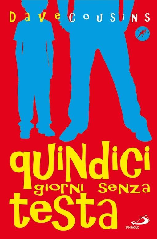 Copertina del libro rossa con le sagome di un ragazzo e di un bambino