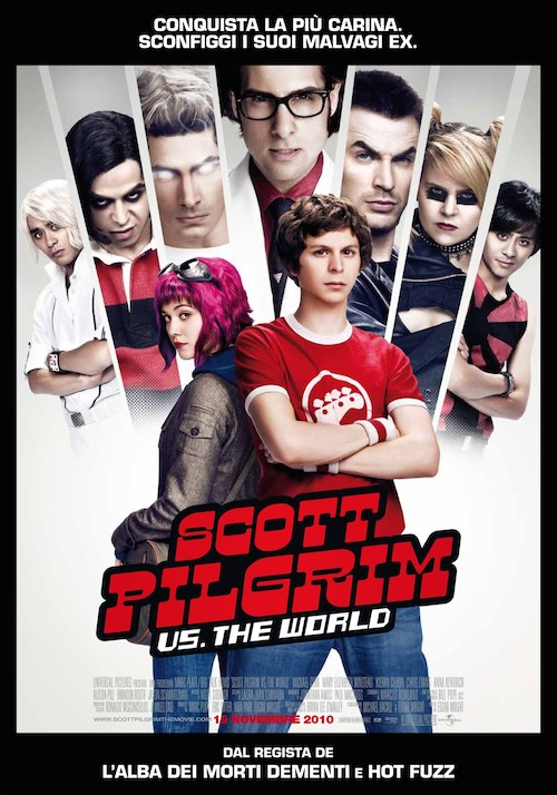 Scott Pilgrim vs the World - Regia: Edgar Wright
