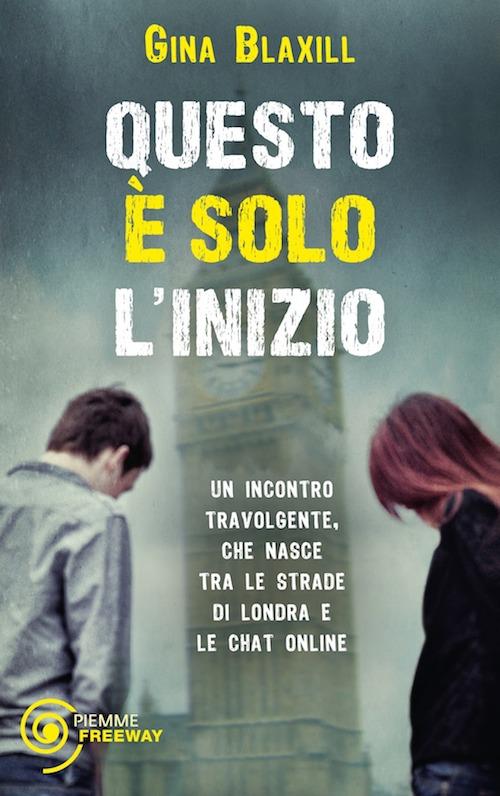 Copertina del libro che mostra un ragazzo e una ragazza di spalle, sullo sfondo il big ben di Londra
