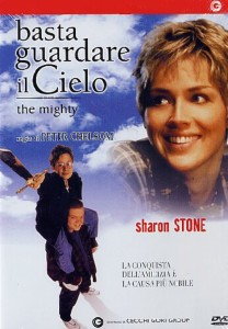 locandina del film che mostra il viso di una donna in primo piano sullo sfondo un uomo con in spalla un ragazzo