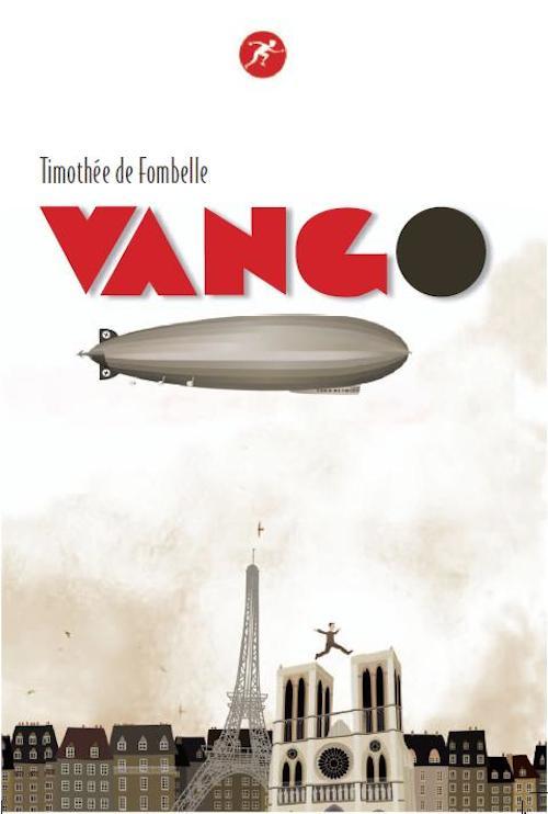 Copertina del libro che riporta l'immagine di un dirigibile che  sorvola i tetti di Parigi