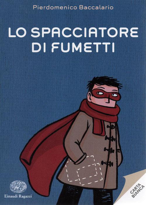 Copertina del libro con l'immagine di una ragazzo con una maschera ed una sciarpa a coprirgli il volto