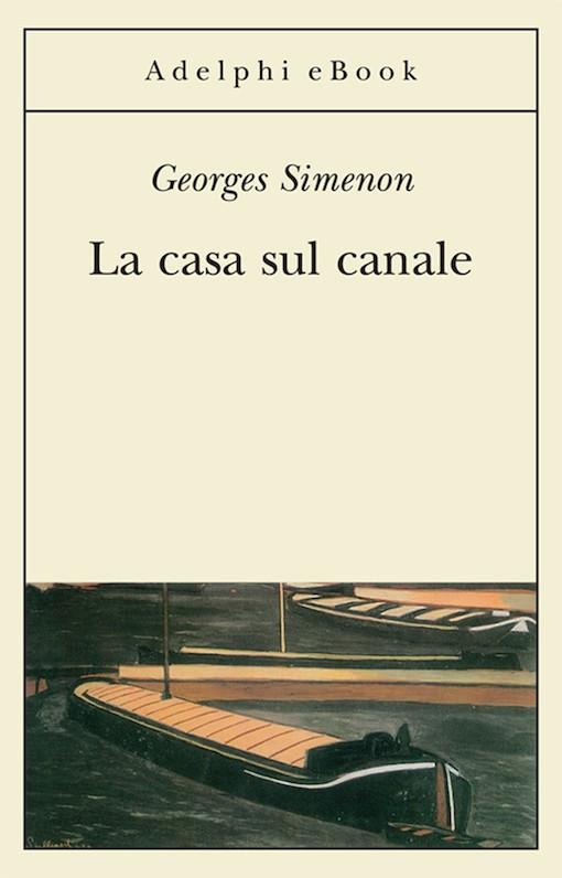 Copertina del libro con l'immagine di alcune barche su di un canale
