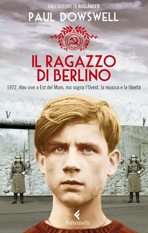 copertina del libro con un ragazzo in primo piano