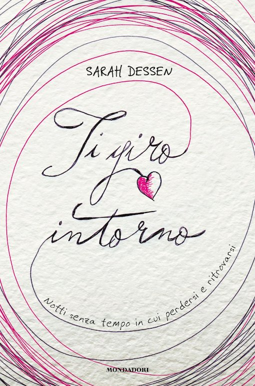 Immagine di copertina con il titolo del libro riportato in lettere corsive, tra una serie di cerchi colorati