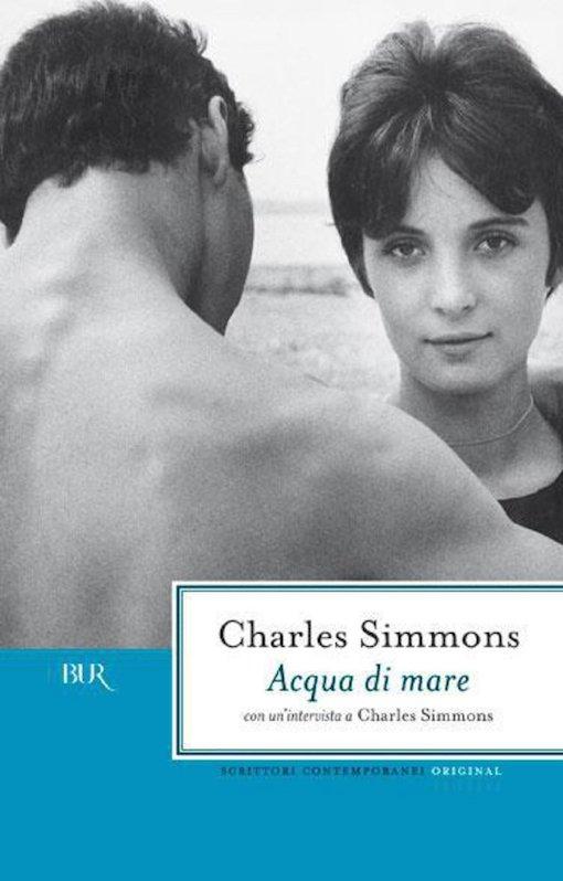 Copertina del libro con l'immagine di un ragazzo visto di spalle e di una ragazza di fronte a lui