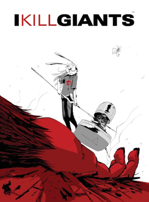 la copertina del fumetto con un disegno