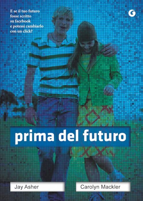 la copertina del libro con un ragazzo e una ragazza abbracciati