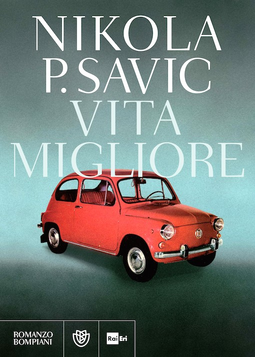 Copertina del libro con l'immagine di una macchina rossa in copertina