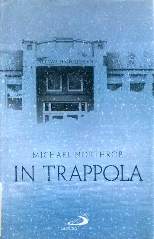 Copertina del libro con l'immagine di un edificio ricoperto dalla neve