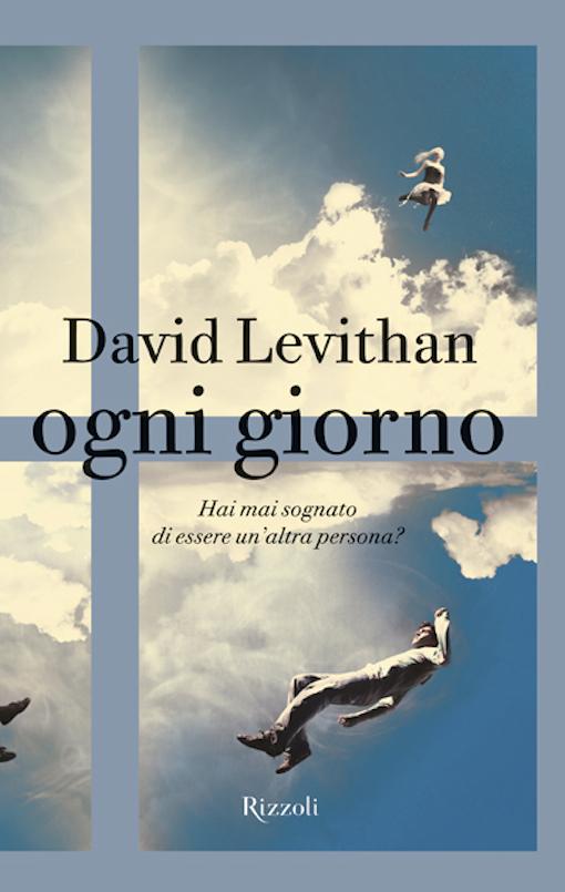 Coperina del libro con l'immagine di un ragazzo che fluttua tra le nuvole