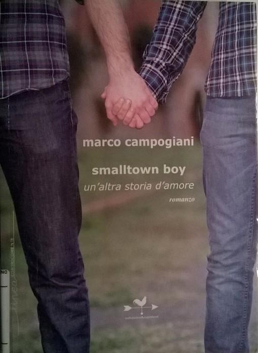 Copertina del libro con l'immagine di due giovani che si tengono per mano