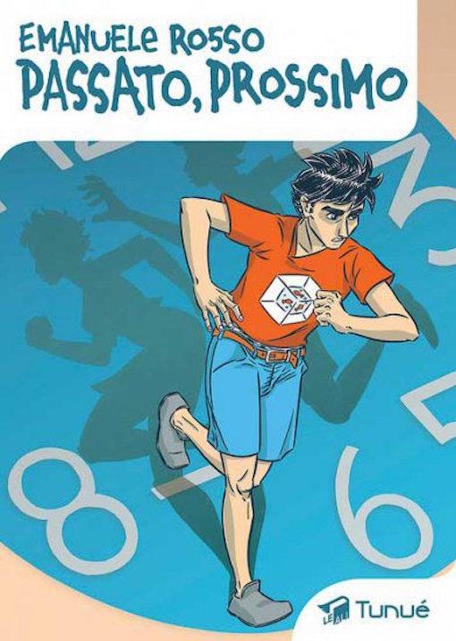 Copertina del fumetto con il protagonista colto nell'ato di correre