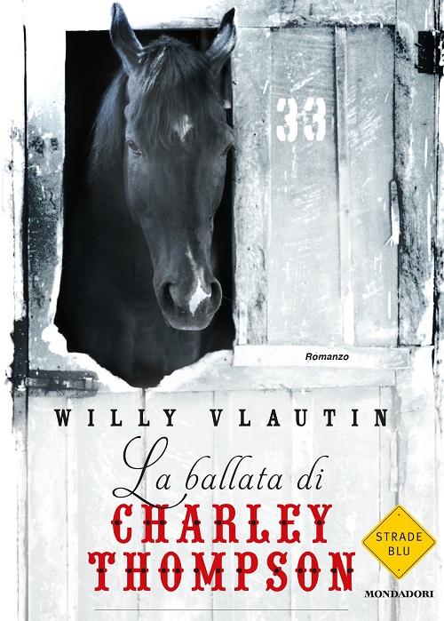 Copertina del libro con l'immagine di un cavallo che si affaccia da un box