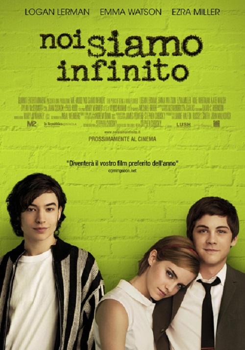 Locandina del film con i tre ragazzi protagonisti