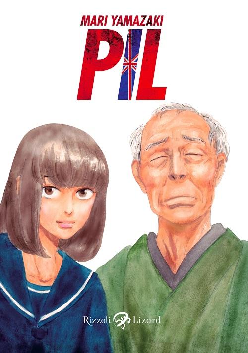 Copertina del manga con l'immagine della protagonista insieme al nonno