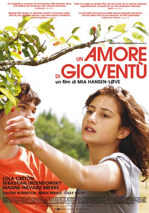 Locandina del film con la protagonista in compagnia di un ragazzo