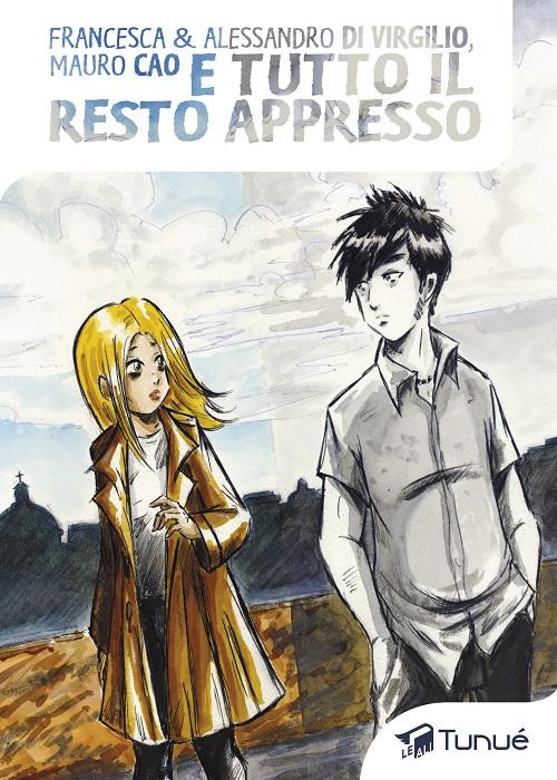 Copertina del fumetto con la protagonista disegnata a colori