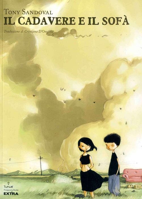 Copertina del libro con i due giovani protagonisti
