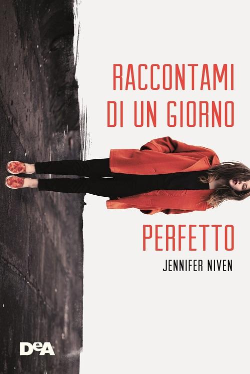 Coperina del libro con l'immagine di una ragazza con un cappotto rosso