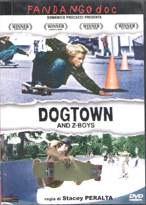 Copertina del dvd con l'immagine di due skater