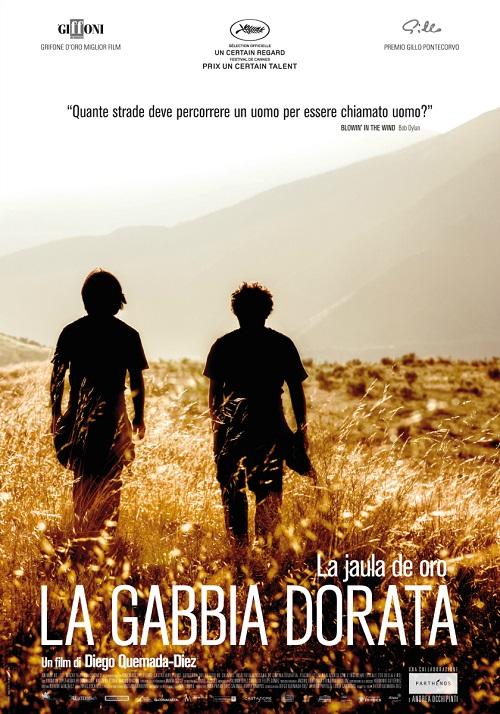 Locandina del film con l'immagine dei due protagonisti che camminano in un campo di grano