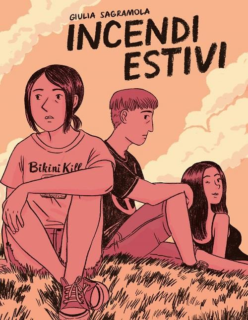 Copertina del fumetto con la protagonista, il suo migliore amico e la sorella