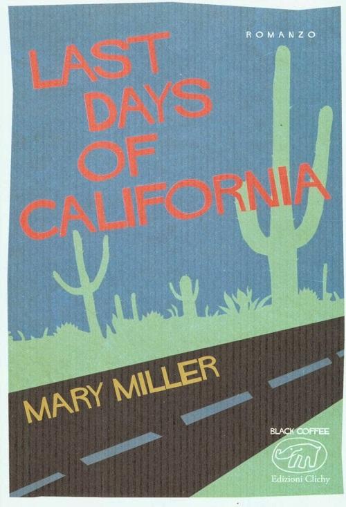 Copertina del libro con il disegno di una strada costeggiata di cactus