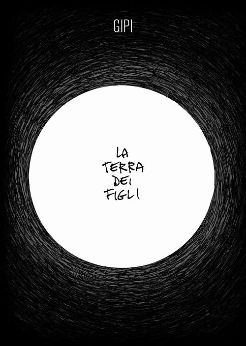 Copertina del libro nera con un cerchio bianco contenente il titolo