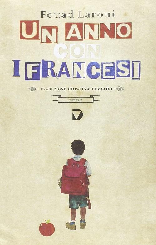 Copertina del libro con il disegno di un bambino con un zaino rosso sulle spalle