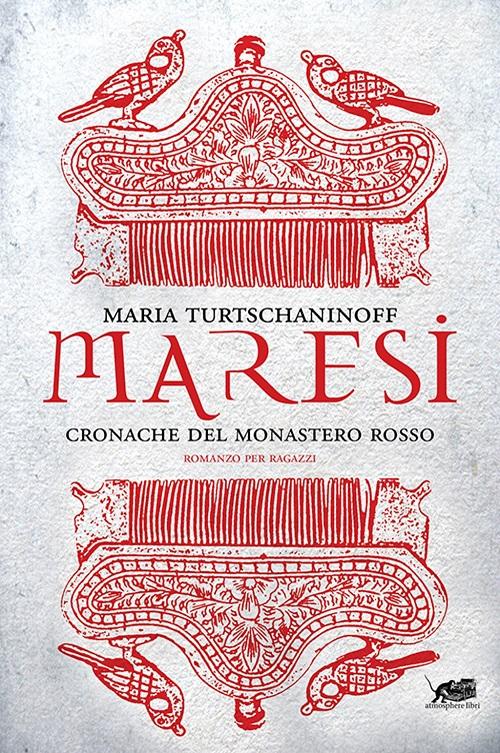Copertina del libro con dei disegni astratti rossi su uno sfondo bianco