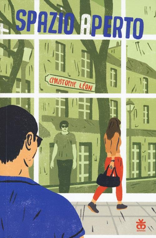 Copertina del libro con l'immagine di alcune persone che camminano per strada